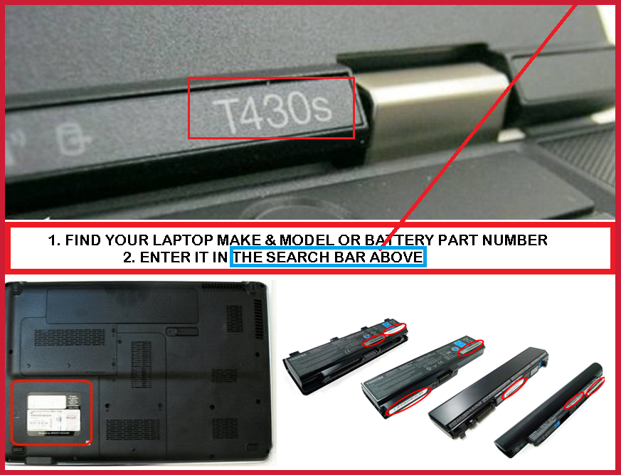 How to find the correct battery